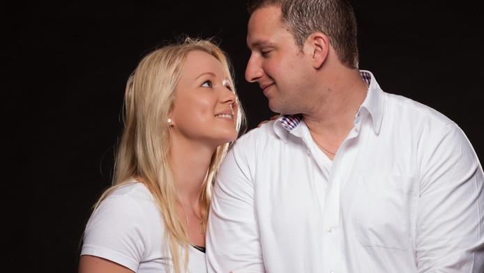 Mike en Meggy waren een gelukkig stel.