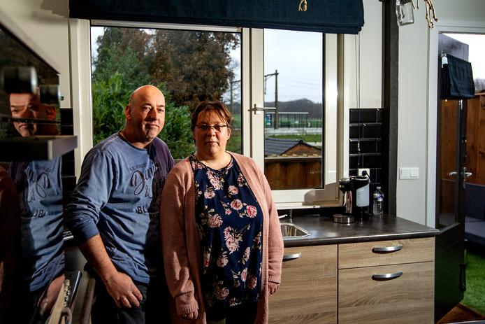 Miranda en Peter Nij Bijvank van bed & breakfast de Uutkiekkamer.