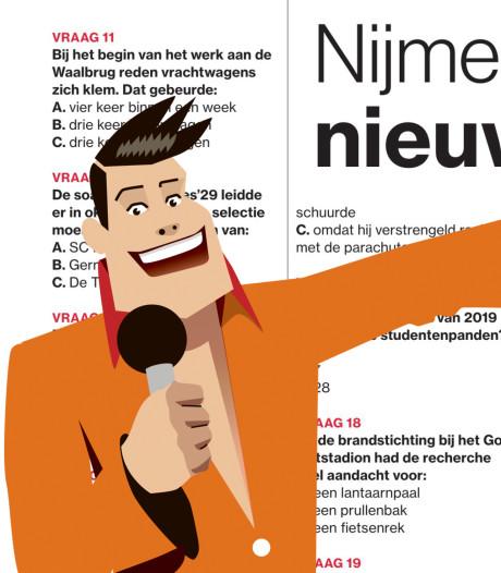Millingse wint Nijmeegse Nieuwsquiz