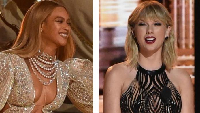 Beyoncé en Taylor Swift.