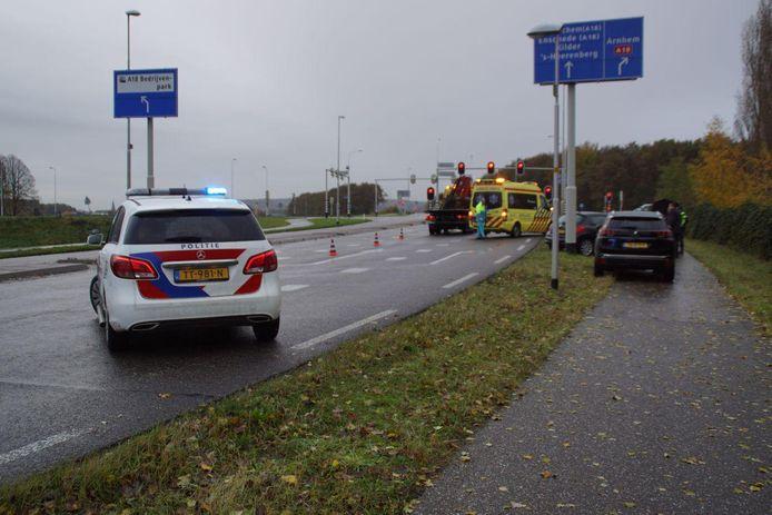Ongeluk in Wehl