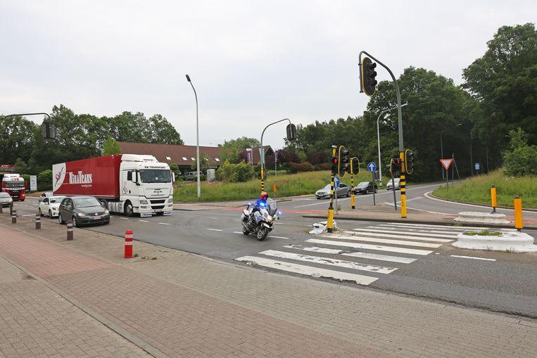 Het op- en afrittencomplex van de E40 in Ternat wordt vernieuwd.
