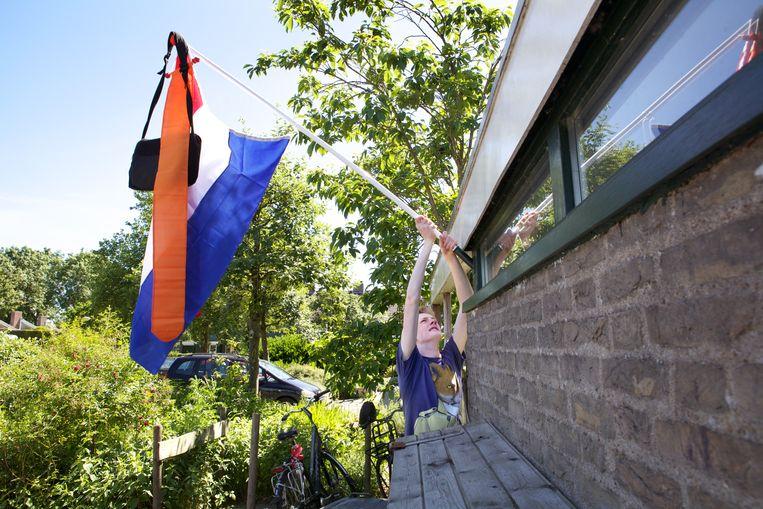Jongens kunnen de vlag iets minder vaak uitsteken dan meisjes. Beeld Hollandse Hoogte / Stijn Rademaker