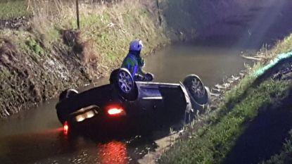 Duikers zoeken naar drenkeling na auto-ongeval, tot bestuurder opdaagt