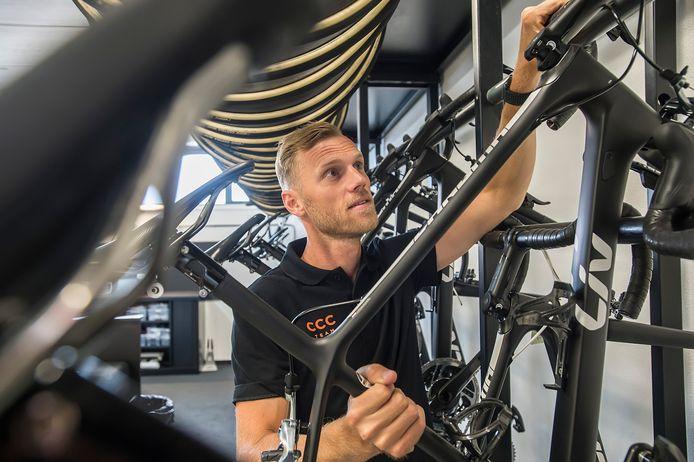 """Lars Boom: ,,Deze baan biedt meer toekomst dan het rijden van gravelraces."""""""