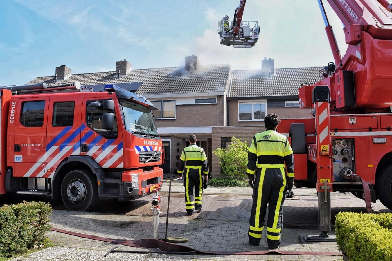 Brandweer in Goirle.