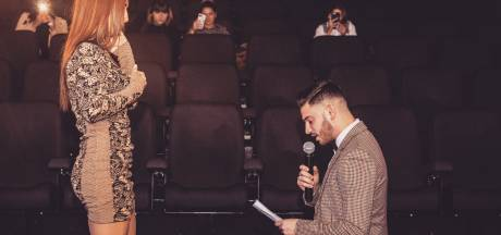 Tiffany a eu droit à une incroyable demande en mariage au cinéma de Waterloo