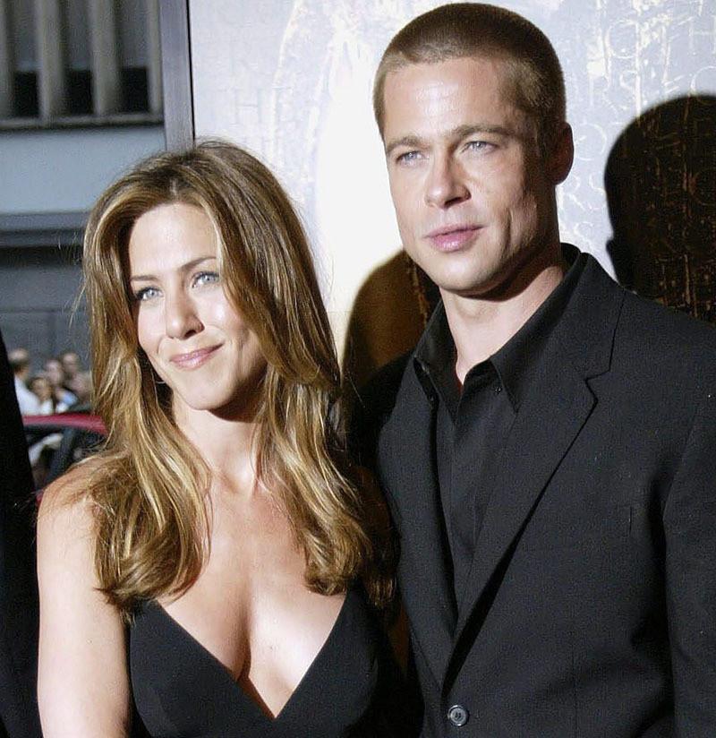 Jennifer Aniston en Brad Pitt waren enkele jaren het droomkoppel van Hollywood.