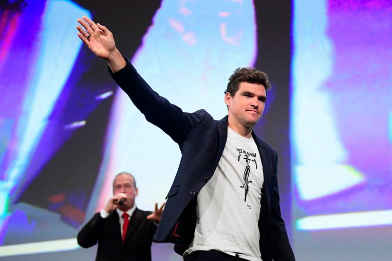 PARIS, FRANCE - OCTOBER 25 : VAN AVERMAET Greg (BEL)  of BMC Racing Team pictured during the presentation of the 2019 Tour de France at the Palais des Congres on October 25, 2018 in Paris, France, 25/10/2018 ( Photo by Peter De Voecht / Photonews