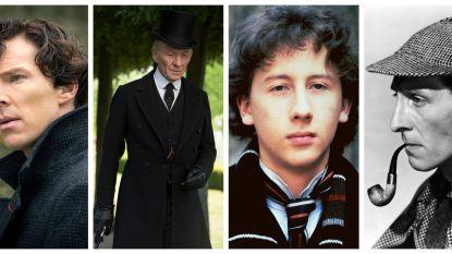 De man met meer dan 254 gedaanten: Sherlock Holmes in tv en film