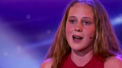 """Camille uit 'Belgium's Got Talent' wil operaster worden: """"Maar die jaloerse blikken"""""""