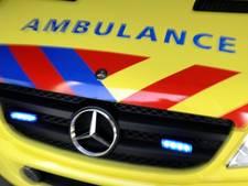 Fietsster geschept door auto in Enschede