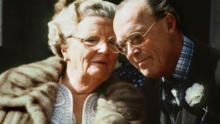 Juliana en Bernhard. Beeld anp