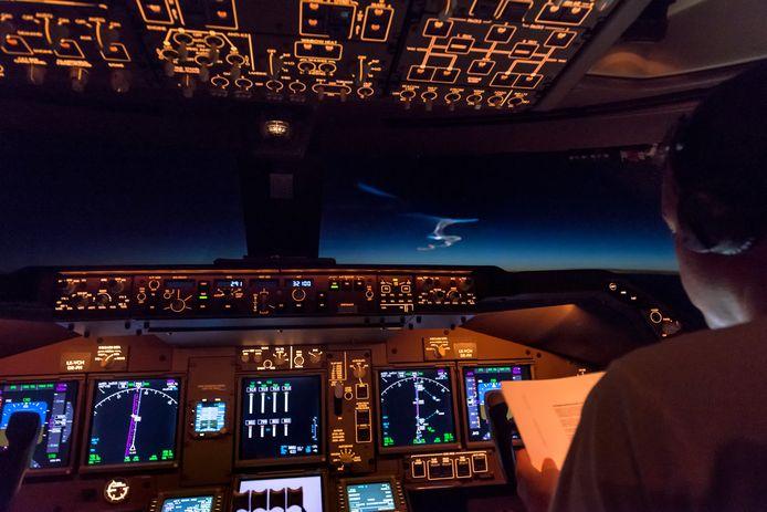 Een piloot van een vliegtuig is zaterdagavond boven Winterswijk verblind geraakt door een laserstraal. Foto ter illustratie.