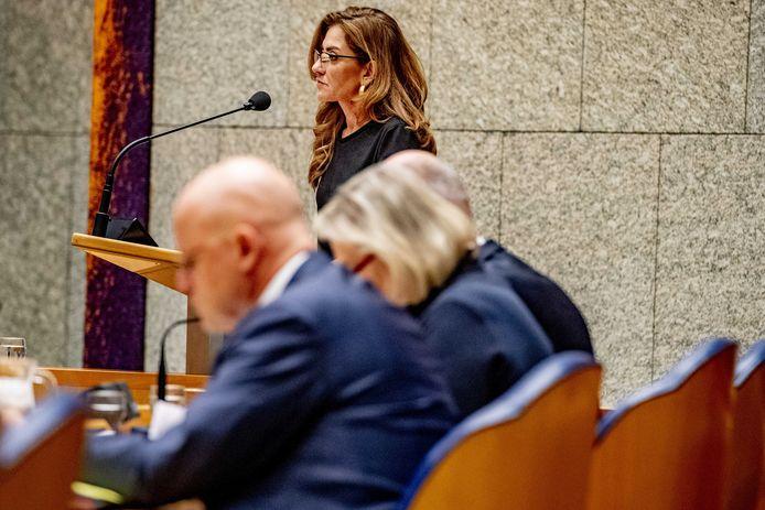 Dilan Yesilgöz-Zegerius is één van de drie VVD-Kamerleden die van minister Grapperhaus willen weten of burgemeester Reinie Melissant na het geweld in Gorinchem 'Marokkaanse moskeeën' bezocht.