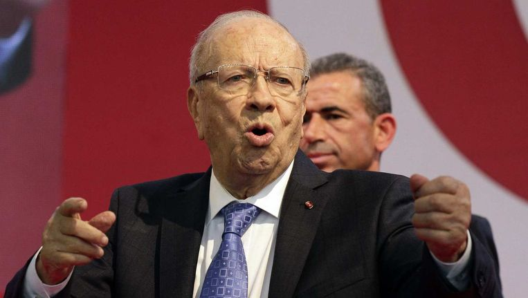 Wordt topfavoriet Beji Caid Essebsi (87) de nieuwe president?