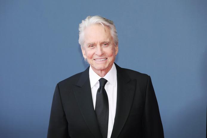 Michael Douglas, mardi, au 59e Festival de Télévision de Monte-Carlo