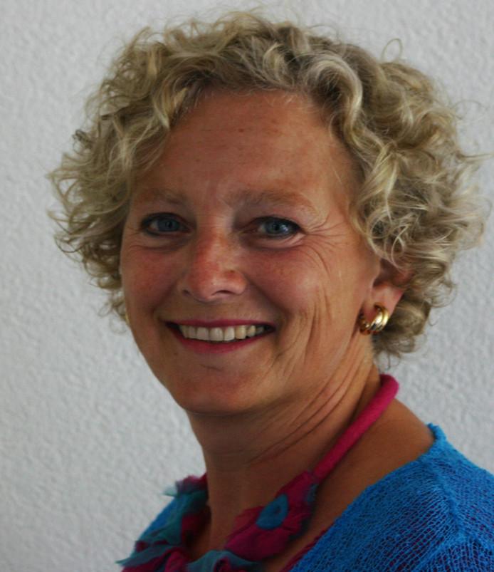 Interim-bestuurder Mieke van den Broek.