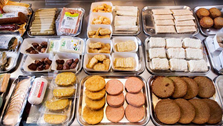 In 2013 opende Marianne Thieme van de Partij voor de Dieren al de eerste vegetarische snackbar in Den Haag. Beeld ANP