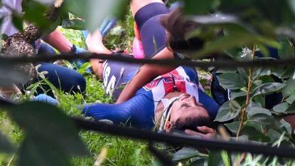 WK LIVE. Drama op WK tijdrijden voor vrouwen: Dygert mist goud na zware val, Van der Breggen grijpt wereldtitel