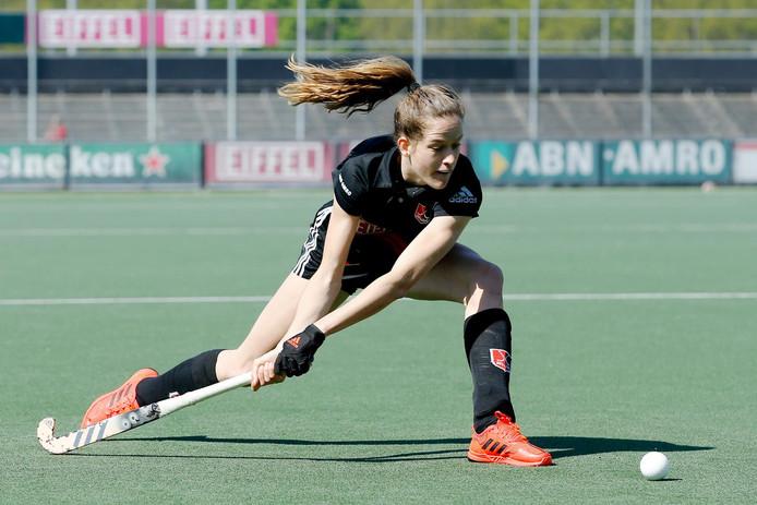 Felice Albers of Amsterdam Dames 1