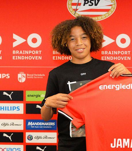 PSV contracteert talentvolle Jamal Gonzaga (15) voor drie jaar