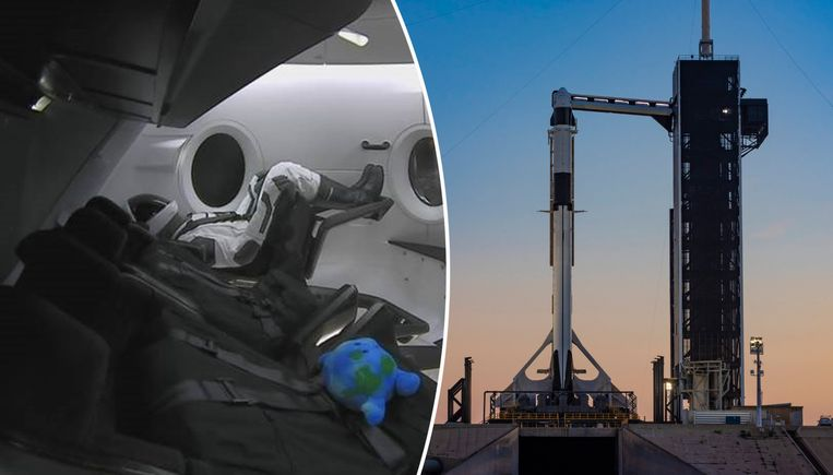 a51e2b1fe293 De Crew Dragon vertrekt op hetzelfde lanceringsplatform als de  legendarische Appolovluchten naar de maan. Links