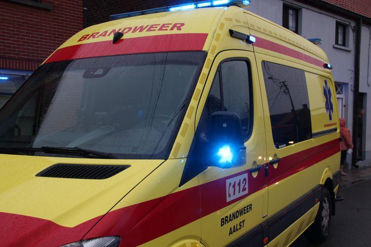 Ziekenwagen brandweer Aalst.