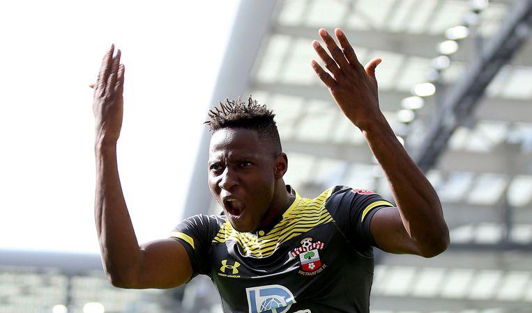 Moussa Djenepo scoorde tegen Brighton.