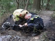 In brand gestoken scooter veroorzaakt bosbrandje in Sint-Oedenrode