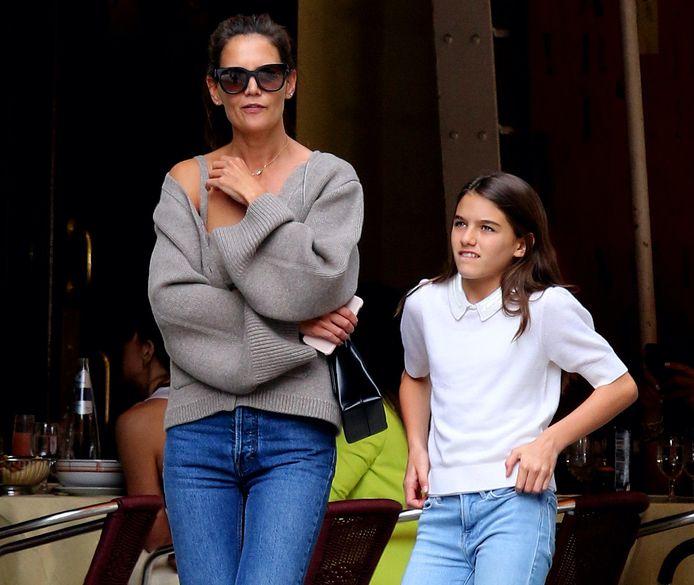 Katie Holmes en haar dochter, Suri Cruise.