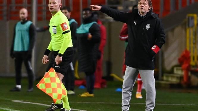 """Vercauteren na eerste nederlaag als coach van Antwerp: """"We waren te veel bezig met andere zaken"""""""