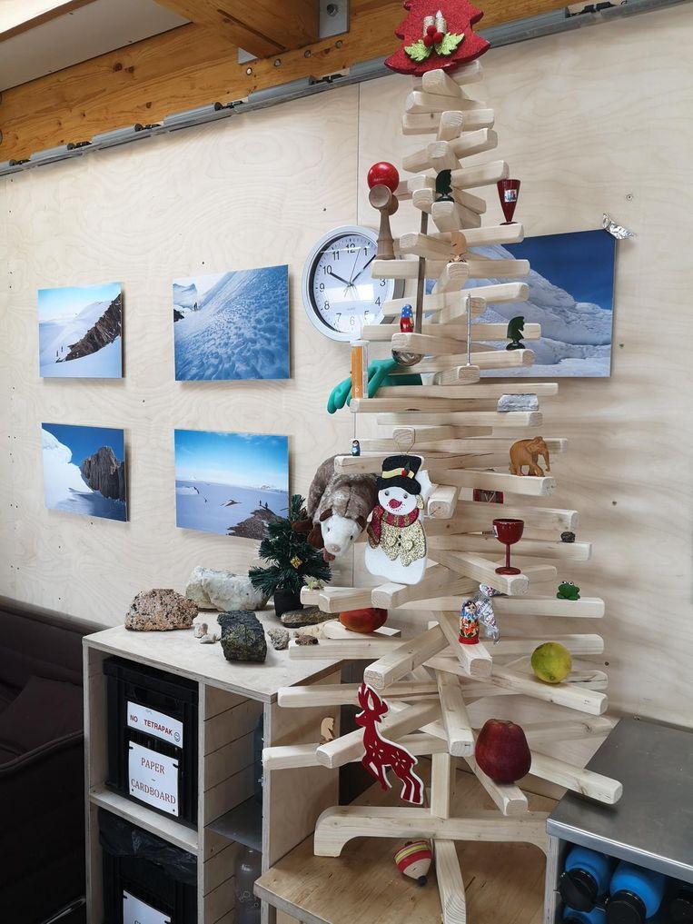 Kerst in Belgische basis Antarctica.