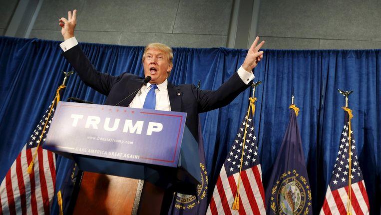 Republikeins presidentskandidaat Donald Trump.