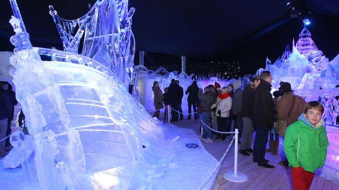 Het is zeker: ijssculpturen komen terug