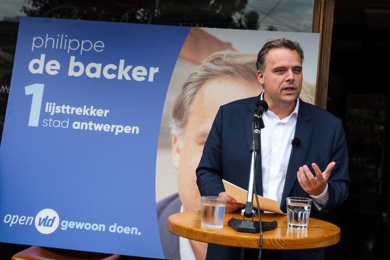 Lijsttrekker Philippe De Backer.