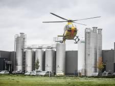 Traumahelikopter ingezet bij bedrijfsongeval in Oldenzaal