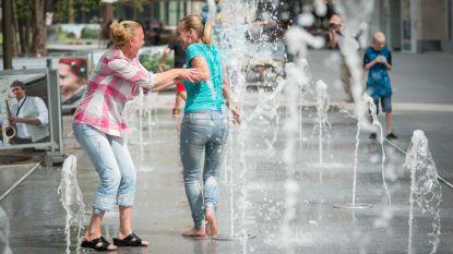 Stad bereidt zich voor op grote hitte: drinkwater gratis beschikbaar gemaakt
