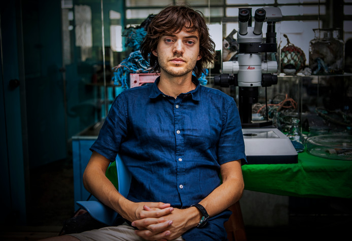 Boyan Slat, grote man achter The Ocean Cleanup.