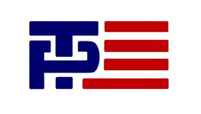 Het oude logo van de Trump-Pence-campagne