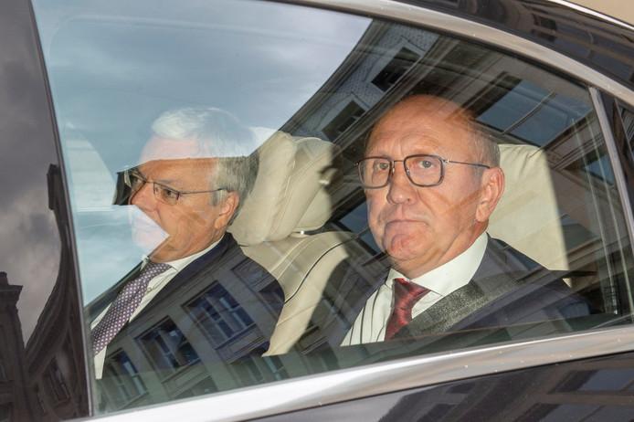 Didier Reynders et Johan Vande Lanotte.