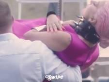 Lady Gaga laat zich naar camera dragen bij fotoshoot: 'Fashion!'