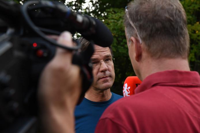 Premier Rutte staat op de heidag van zijn kabinet het Brabants Dagblad te woord.