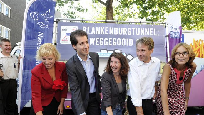 Protest tegen de Blankenburgtunnel