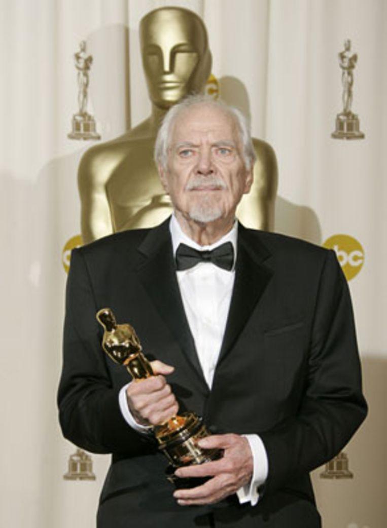 Robert Altman tijdens de Oscar-uitreiking in mei van dit jaar (AFP) Beeld null