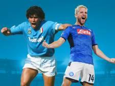"""Maradona lance un appel à Naples pour Mertens: """"S'il vous plaît, ne le laissez pas partir"""""""