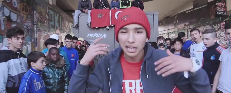 De Antwerpse rapper Bilal 'Moreno' Azzouzi. Beeld RV