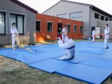 Judo en jiujitsu in de Veldhovense buitenlucht