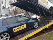 Politie neemt in Apeldoorn auto's in beslag in onderzoek naar mensenhandel