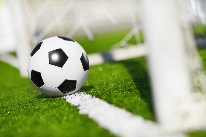 amateurvoetbal voetbal stockadr